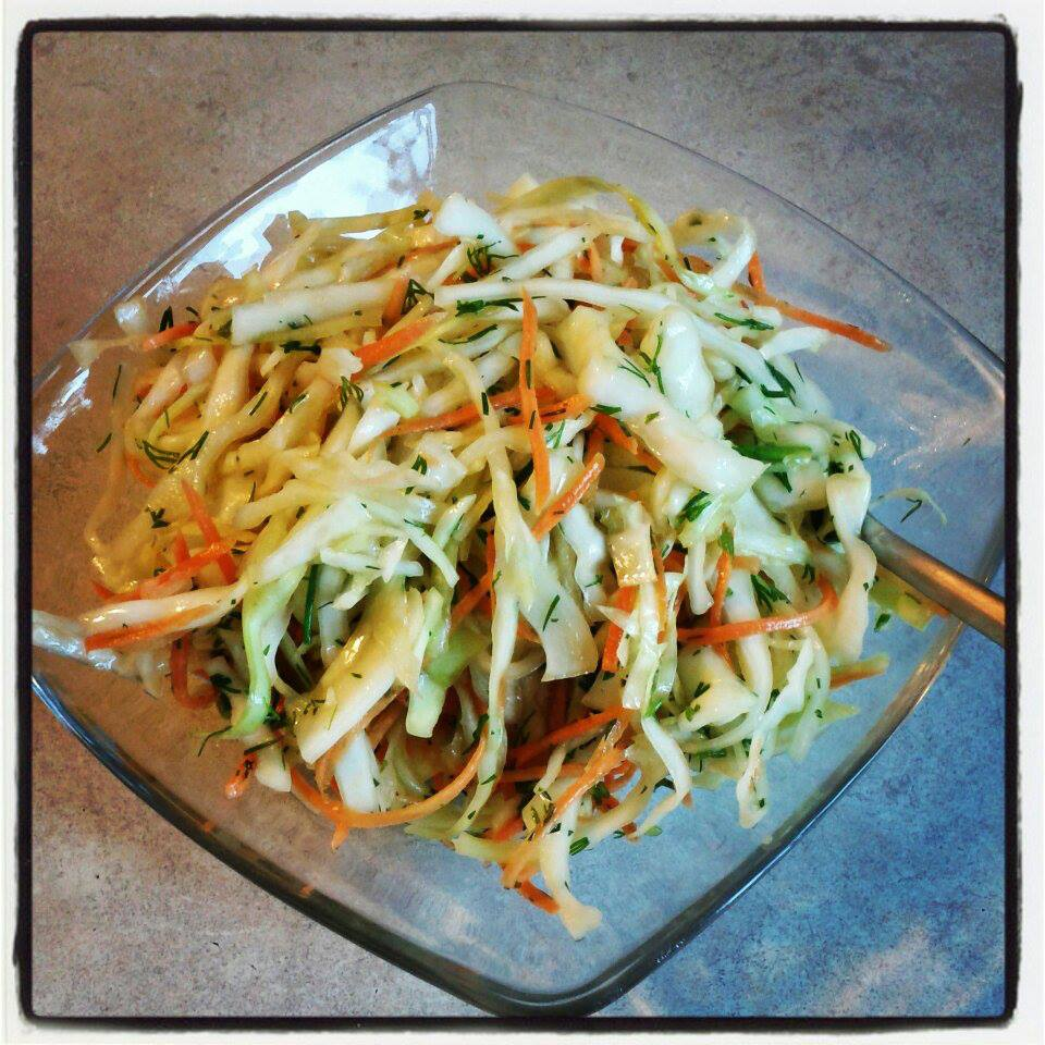 Healthy Cabbage Slaw Recipe