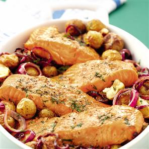 Fast, Easy and Healthy Baked Fish Recipe